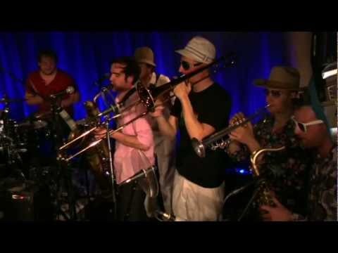 Schwarzkaffee - Put Your Hands On The Horn | Live at the 55 Arts Club Berlin