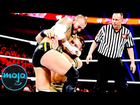 Top 10 Matches in WWE Monday Night Raw History