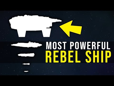 The Rebel Alliance's Most Powerful Ship -- The Bulwark Battlecruiser | Star Wars Legends Lore