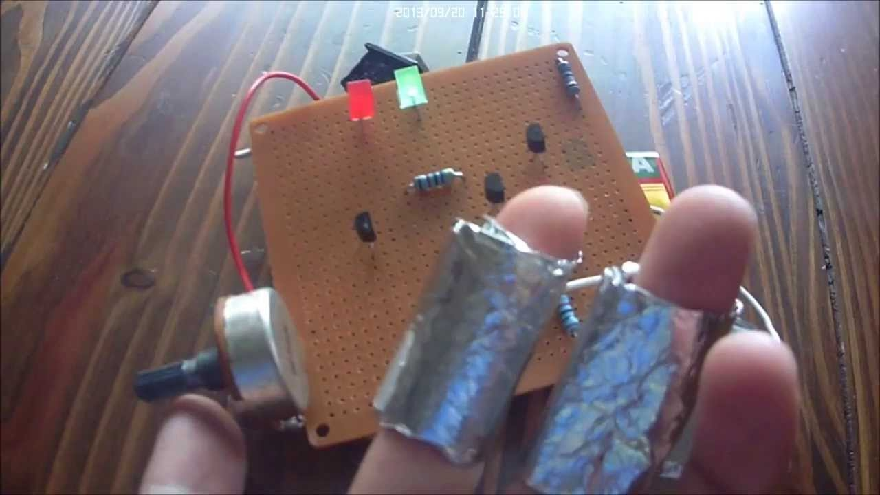 Gold Detector Circuit Lie Detector 3 This Circuit