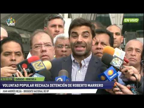 Venezuela -  Voluntad Popular rechaza detención de Roberto Marrero- VPItv