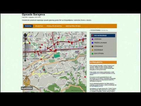 Interaktivna Mapa Opsade Sarajeva Youtube