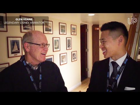 Glen Keane Interview by UP Studios CEO, Trevor Lai (China, Hollywood)