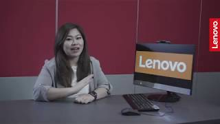 Unboxing Lenovo All-in-One Desktop V530
