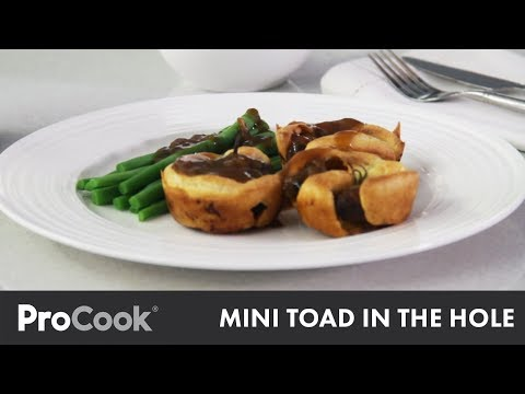 How To Make Mini Toad-in-the-Hole | Classic British Recipe
