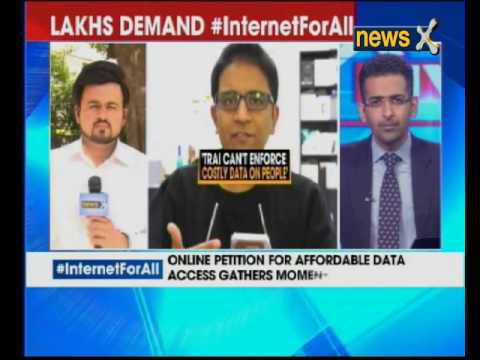 Internet for all: Online petition for affordable data access gathers momentum
