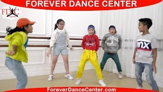 FINESSE (Remix) - Bruno Mars ft Cardi B Kids Dance Video Dance Choreography