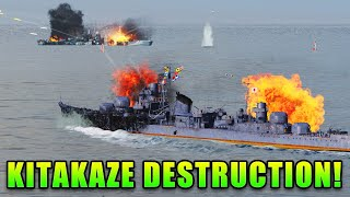 They're gonna need bigger boats - Kitakaze Destruction!