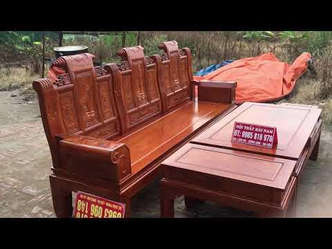 Chỉ cần 20tr800k  có ngay  có ngay bộ ghế Âu ắ hộp 6 món gỗ gõ đỏ cực bền và đẹp