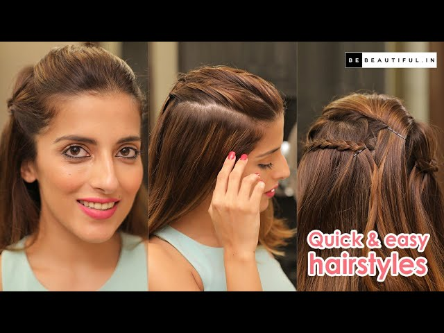 Quick & Easy College/School Hairstyles   Everyday Hairstyle ...