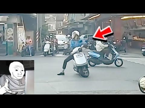 《台灣三寶1》愛闖紅燈?闖到被抬棺材 綠燈時竟然還有人在馬路中間原地轉圈圈??