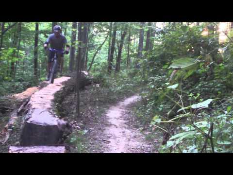 Brown County Indiana MTB...Walnut Trail.