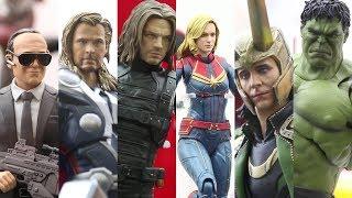 [東京コミコン2018]S.H.Figuarts Marvel Series /マーベルシリーズ display