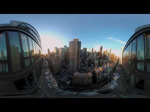 New York City 360° Time-warp | Multi-Lapse  | Vuze XR 5.7k