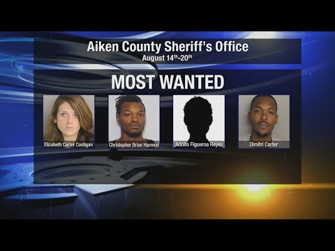 """Aiken County Sheriff's Office breaks down """"Most Wanted List,"""" share tools used to track down suspect"""