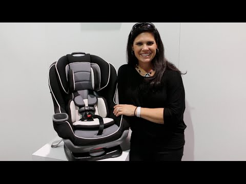 Graco Extend2Fit Convertible Car Seat Review - YouTube