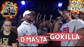 140 BPM BATTLE: D.MASTA X GOKILLA [реакция]