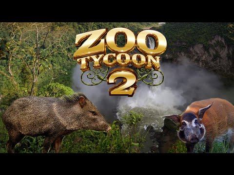 Zoo Tycoon 2: Peccary & Red River Hog Exhibit Speed Build