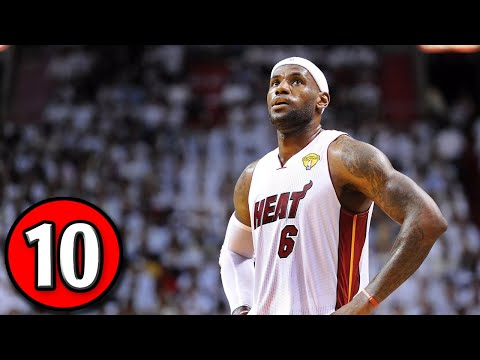 LeBron James Top 10 Plays of Career [Updated]
