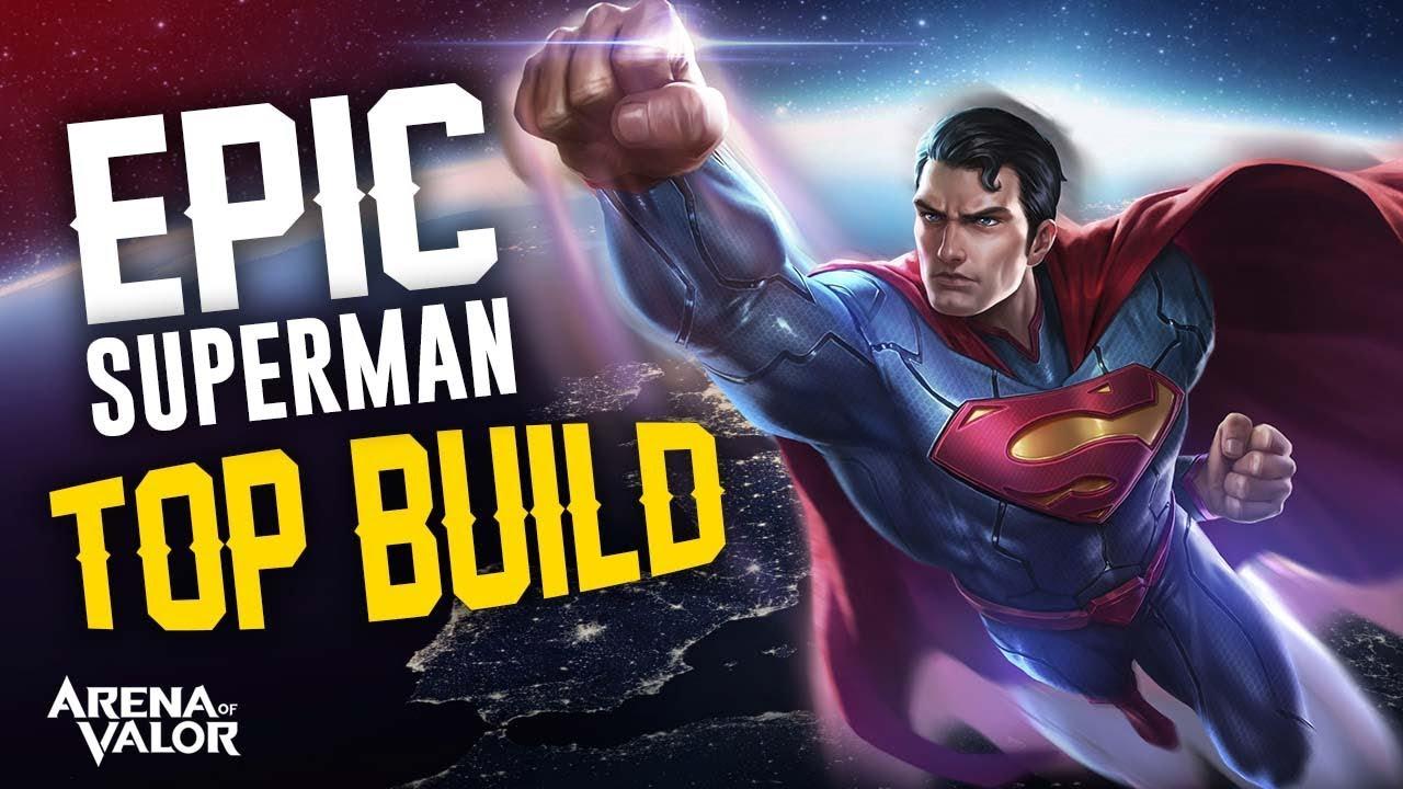 F F  Aepic Superman Top Build F F  A Arena Of Valor Polgames Gameplay