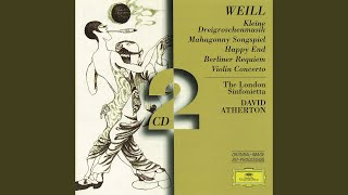 Weill: Happy End (1929) / Part 3 - Songs of the Rival Armies - 11. The little lieutenant of the...