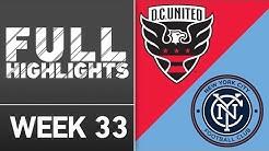 HIGHLIGHTS | D.C. United vs. New York City FC