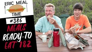 Meals Ready to Eat (MRE) Menus 1&2 - Eric Meal Time #386