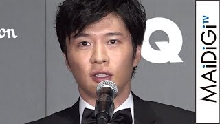 """田中圭「おっさんずラブ」は「たくさんの方をブレイクスルーさせた」 """"今年最も輝いた男性""""に喜び 「GQ メン・オブ・ザ・イヤー2018」授賞式"""