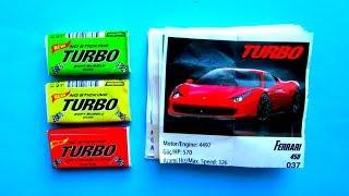 Вкладыши от жвачек Turbo. Жевательная резинка Турбо(, 2017-08-10T09:19:22.000Z)