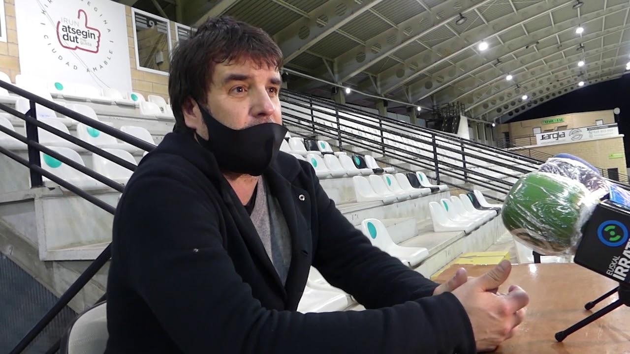 Jornada 17. Aitor Zulaika, tras el encuentro Real Unión-Real Sociedad B