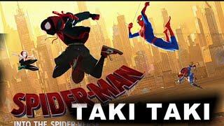 DJ Snake - Taki Taki ft. Selena Gomez, Ozuna, Cardi B Spiderman into spider verse   SDM