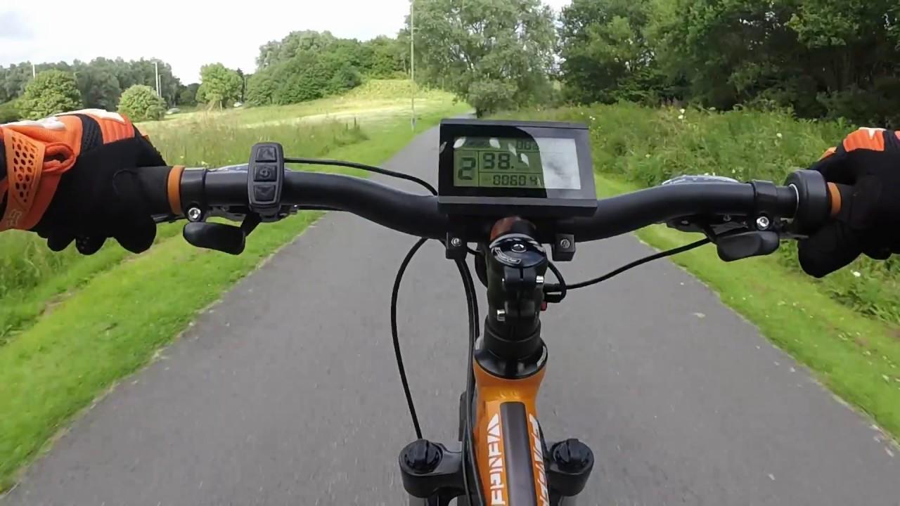 1000 Watt Electric Carrera Vengeance Mountain Bike Youtube