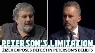 Zizek Exposes Defect In Jordan Peterson's Beliefs