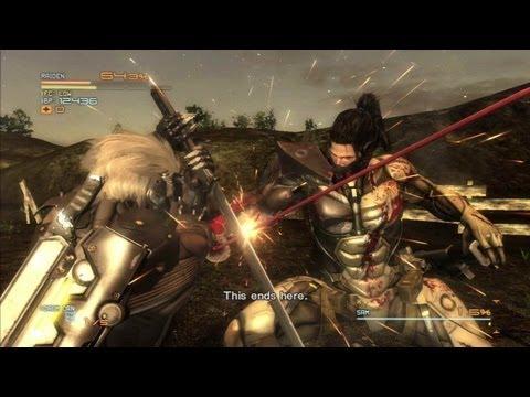 Metal Gear - Rising Revengeance - Raiden VS. Sam Final Battle