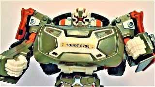 Тоботы - открываем игрушки для мальчиков Тобот трансформер эволюция X видео для детей