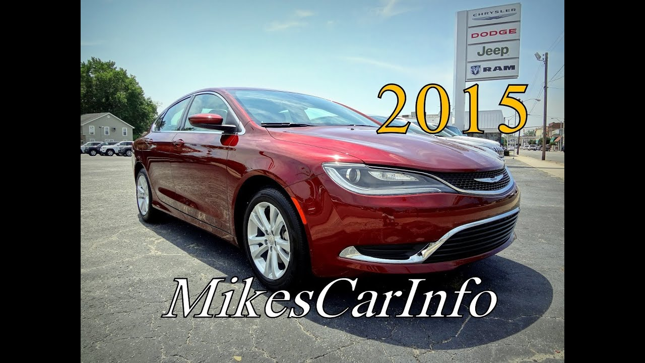 2015 Chrysler 200 Limited Viyoutube