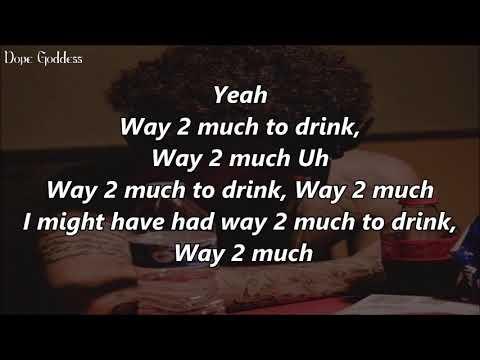 Phora - Way 2 Much (Lyrics)