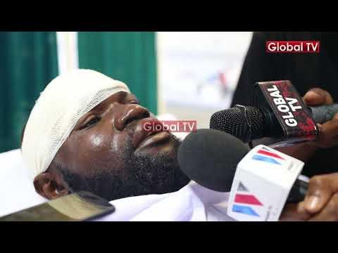 Mwarabu Fighter, Baunsa wa Diamond Apata Ajali Mbaya na Kukimbizwa Muhimbili