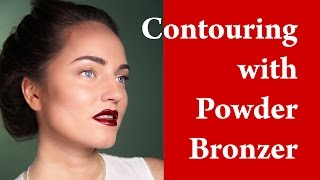 SQUARE FACE MAKEUP - How to contour square face - Contouring and Highlighting Thumbnail