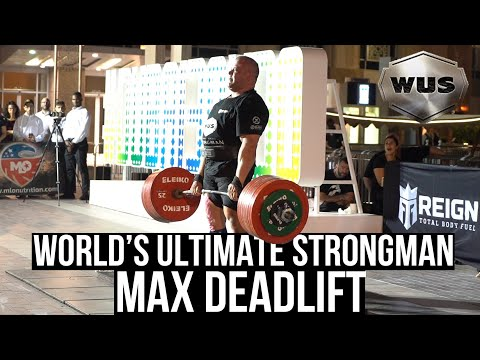 Can anyone beat the 500kg Deadlift? - Behind The Scenes of WORLD'S ULTIMATE STRONGMAN DEADLIFT Day 1