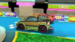 Komodo Vs Lightning Mcqueen & Monster Truck Disney PIXAR CARS for Kids Gameplay