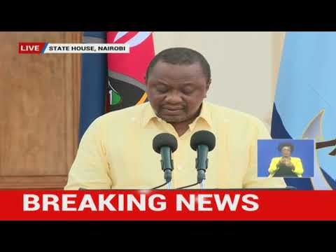 """We Are At War"": President Uhuru Outlines Tougher Measures To Curb Pandemic 