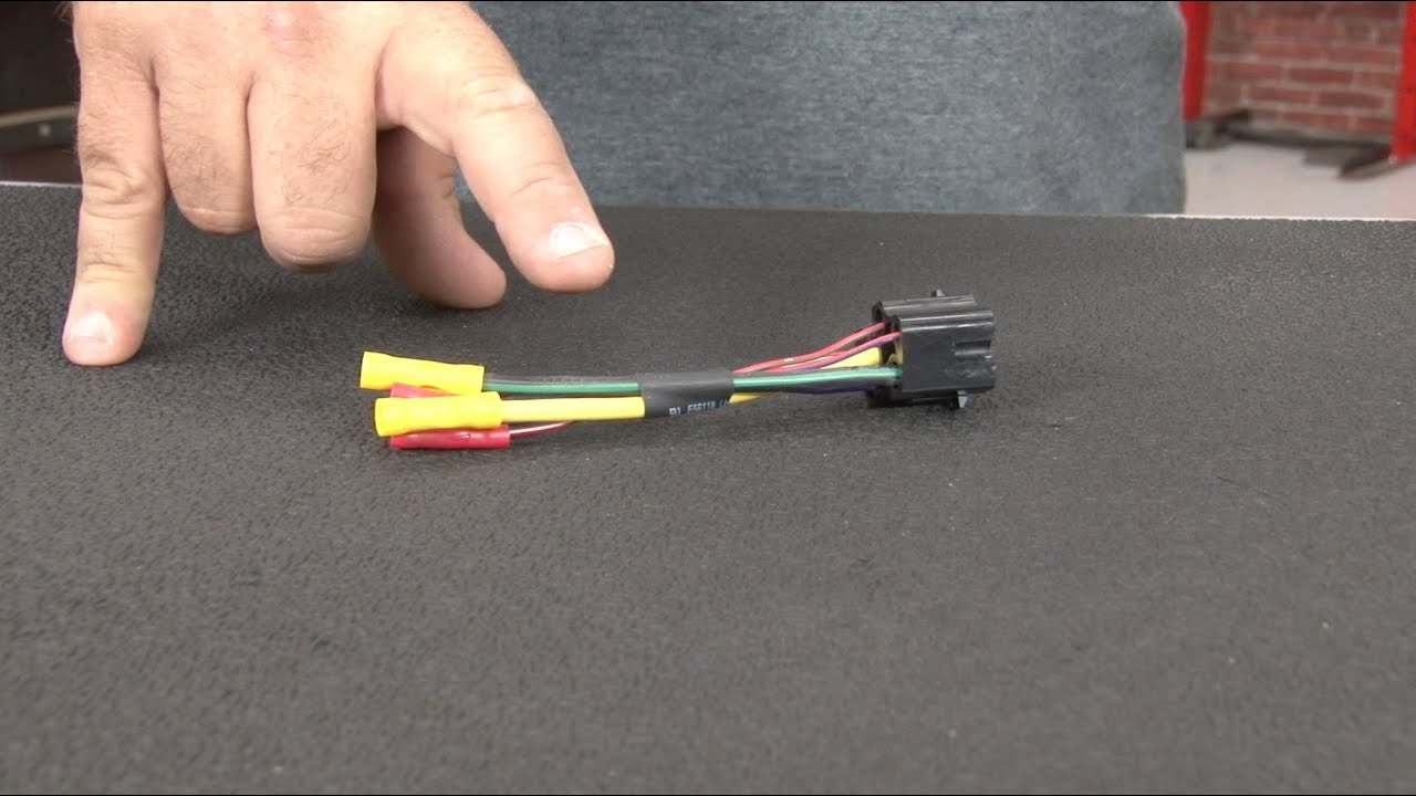 1969 Ford Mustang Ignition Switch Wiring Diagram Vw Golf 1 Mp9 Pigtail Without Resistor Wire 1968-1969 - Youtube