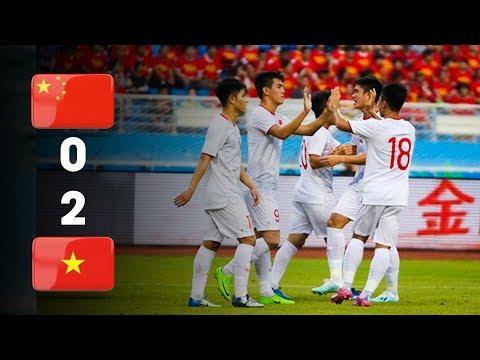 """Highlight U22 Việt Nam - U22 Trung Quốc: Tiến Linh Lập Cú Đúp """"Cực Phẩm"""" Khiến TQ Thua Cay Đắng"""