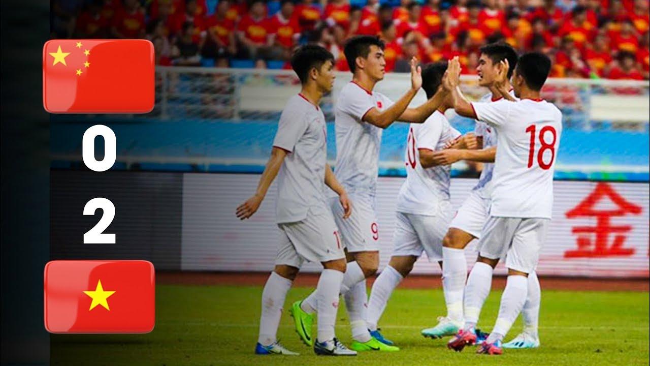 Highlight U22 Việt Nam - U22 Trung Quốc: Tiến Linh Lập Cú Đúp