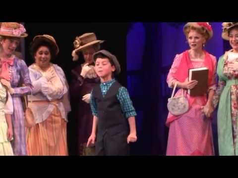 Vincent Crocilla THE MUSIC MAN Jeffrey Coon and Jennifer Hope Wills at Walnut Street Theatre