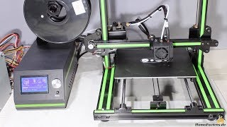 Review of the Anet E10 3D printer