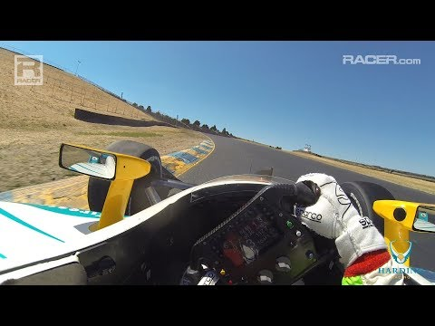 RACER: Patricio O'Ward IndyCar Visor Cam at Sonoma