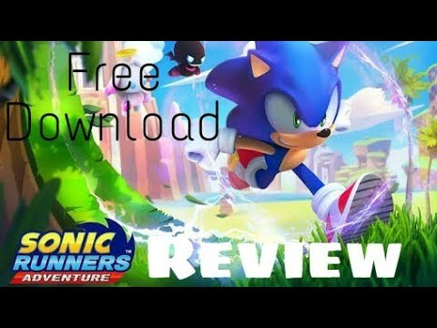 How To Download Sonic Runners Adventure In Free For Android Or ISO (Gameplay) (Review)