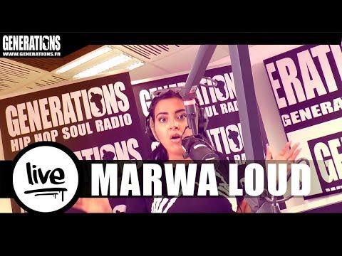 """Marwa Loud -""""Mehdi"""" (Live des studios de Generations)"""